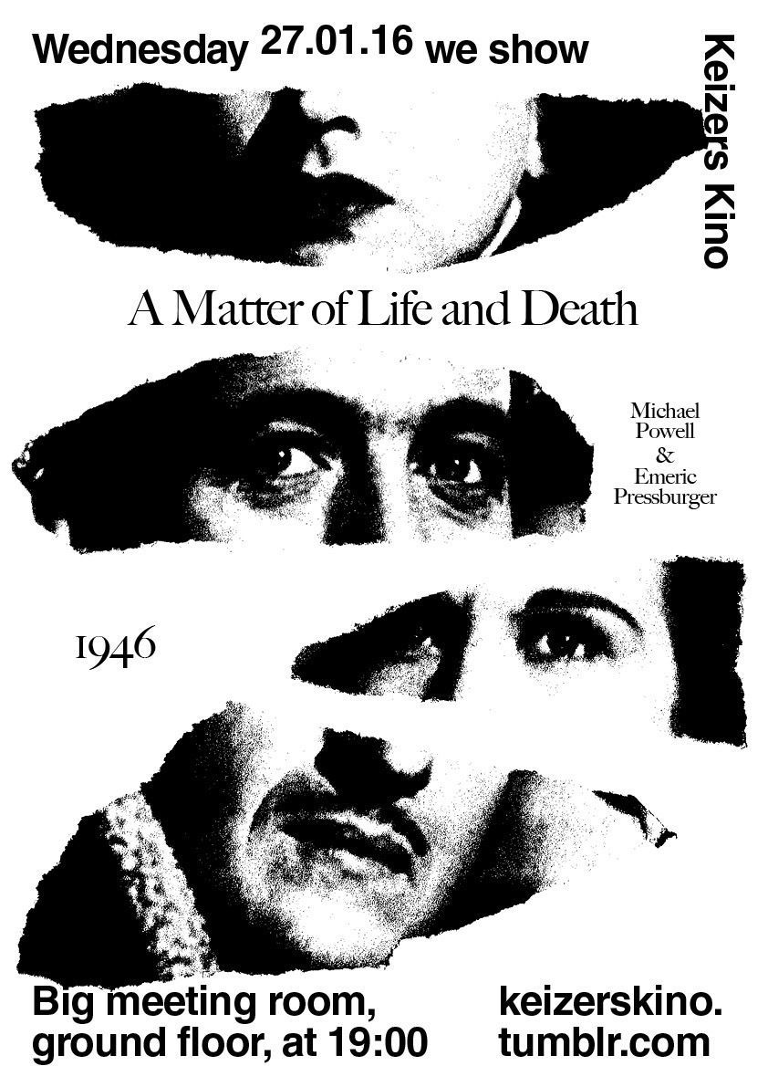 A Matter of Life and Death, screened 27th January 2016